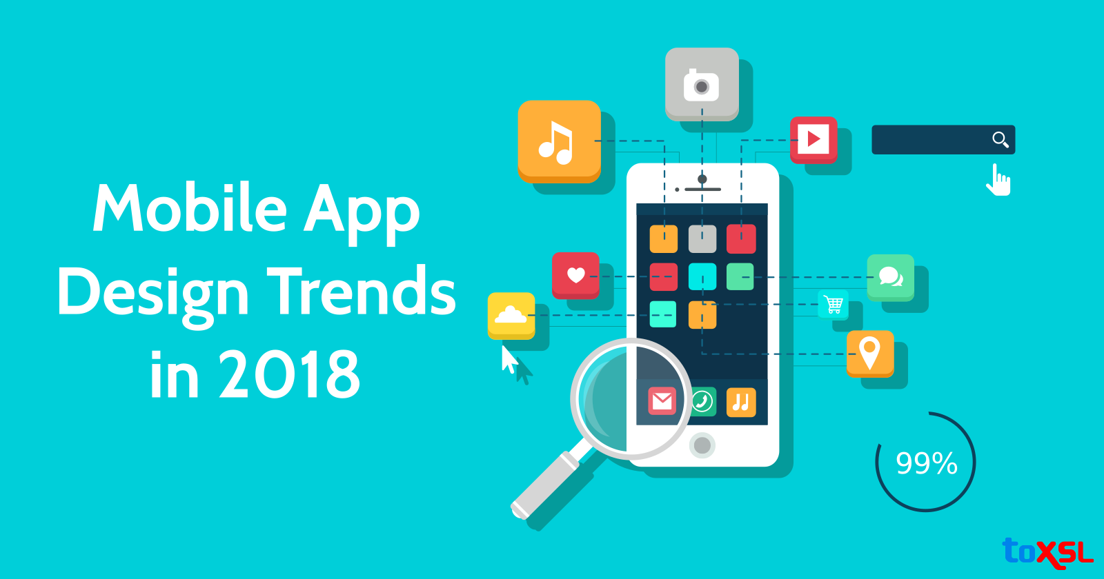 Mobile App Design Trends to Be Followed for User-Friendly Applications