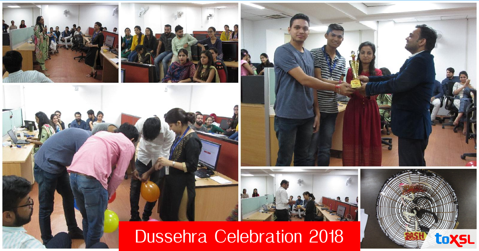 Dussehra Celebrations at ToXSL!!!!!