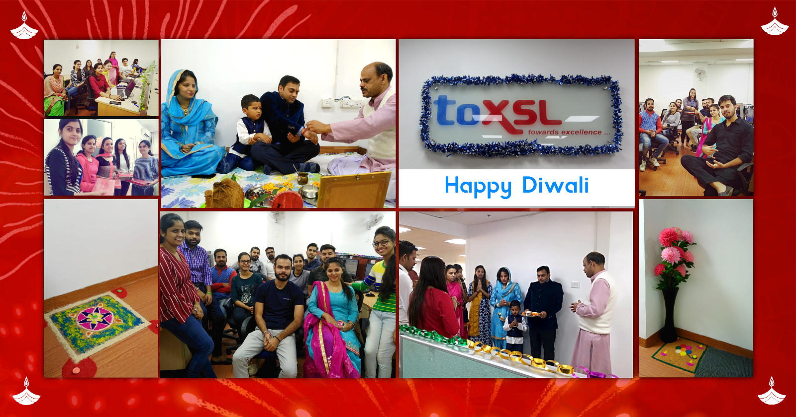 Diwali Celebrations at ToXSL Technologies 2018