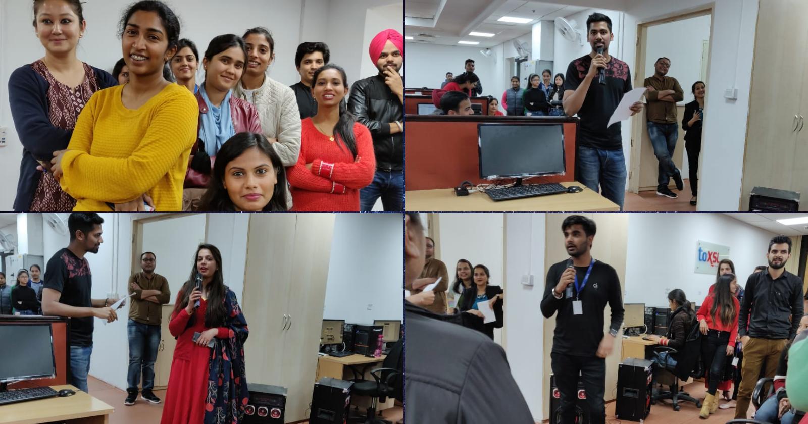 Valentine's Day Celebration at ToXSL Technologies 2019