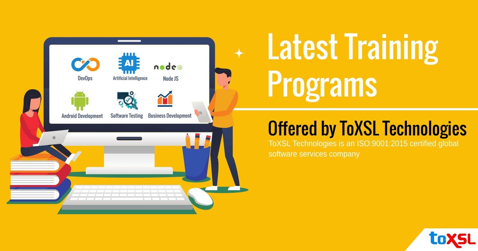 Latest Training Programs Offered by ToXSL Technologies