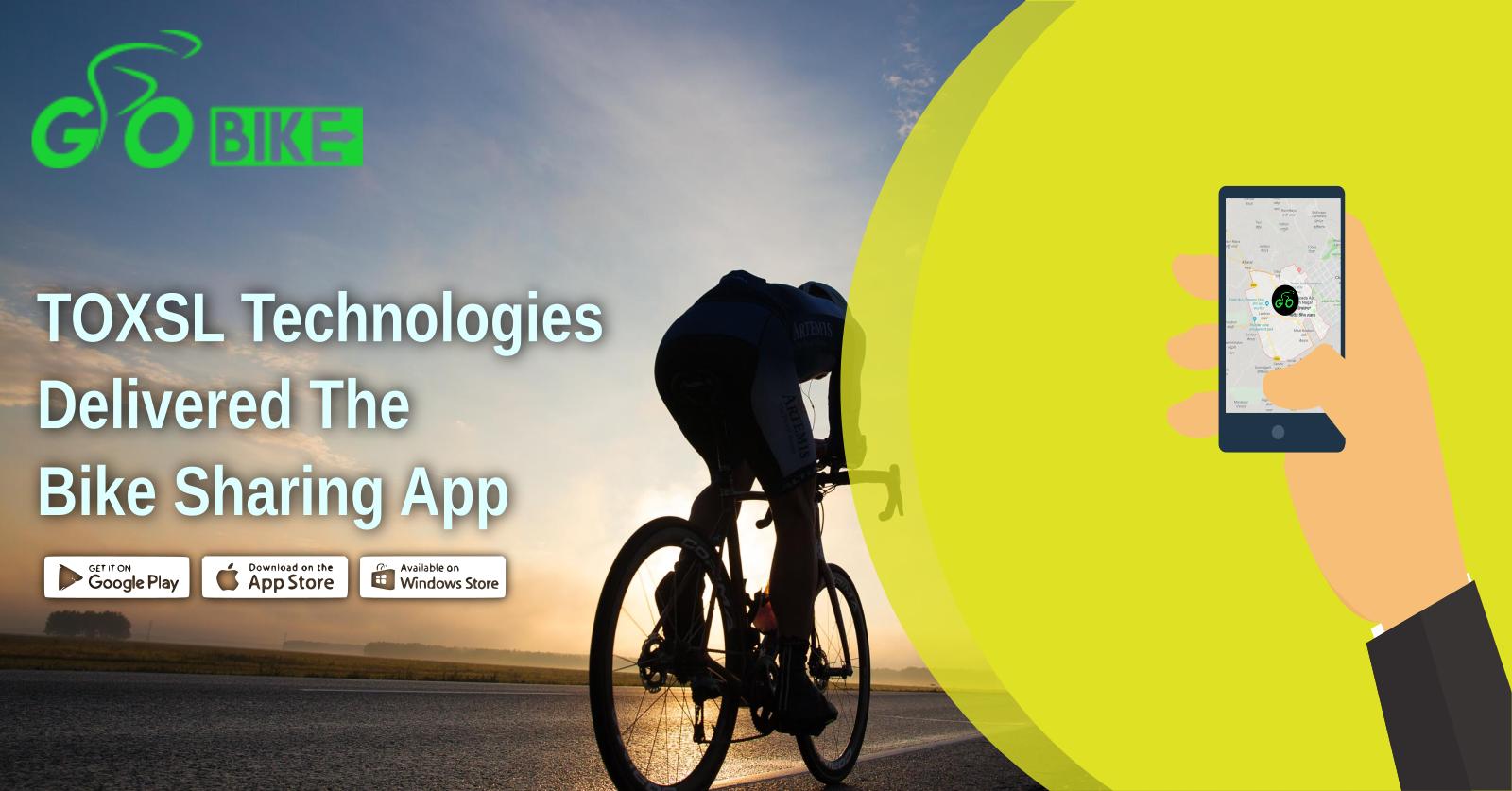 ToXSL Technologies Delivered The Bike Sharing App: Go Bike