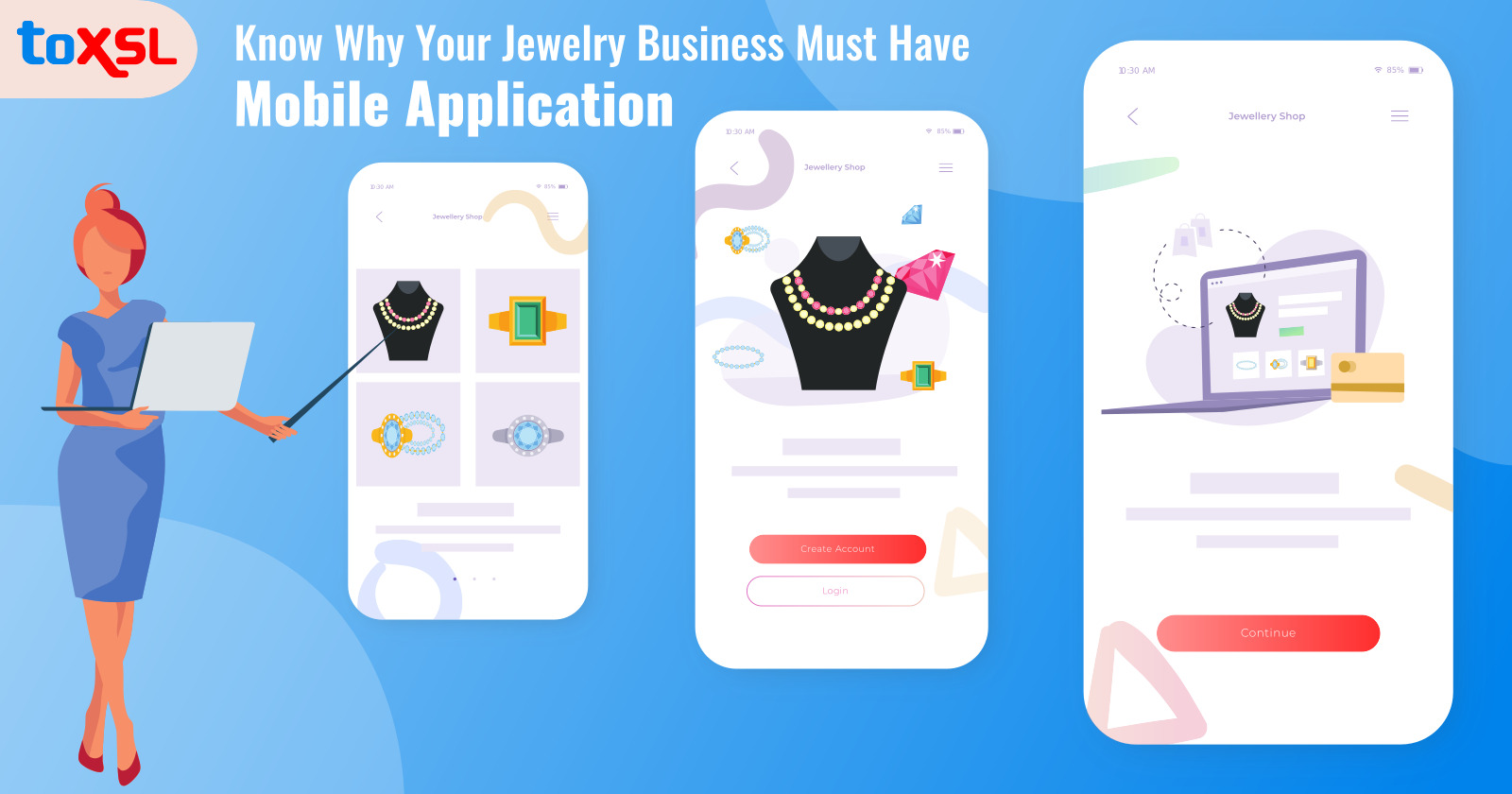 Know Why Your Jewelry Business Must Have Mobile Application