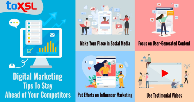 Digital Marketing Tips To Stay Ahead of Your Competitors
