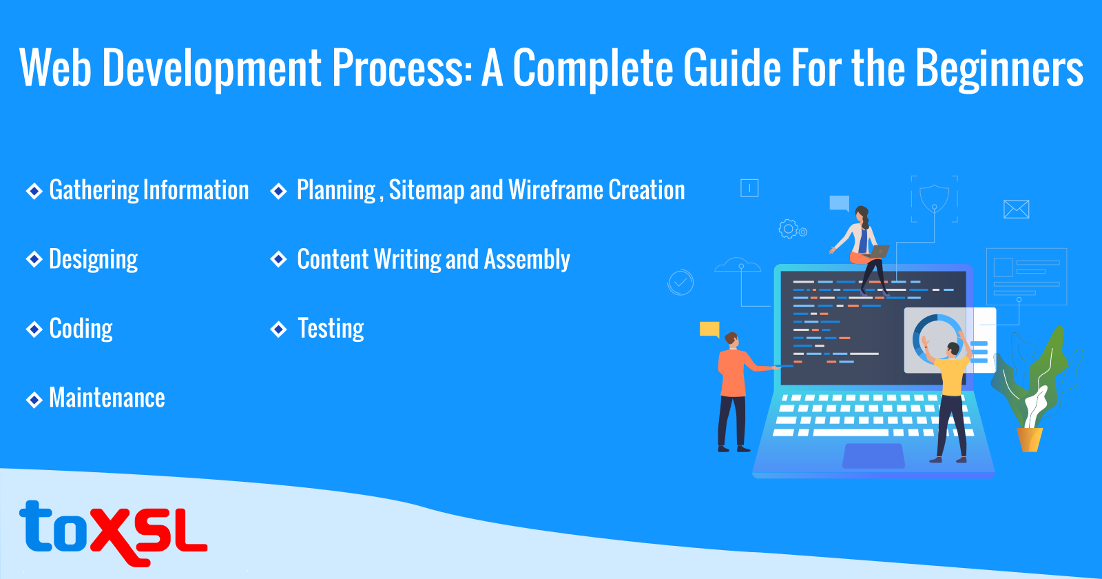Web Development Process: A Complete Guide For the Beginners