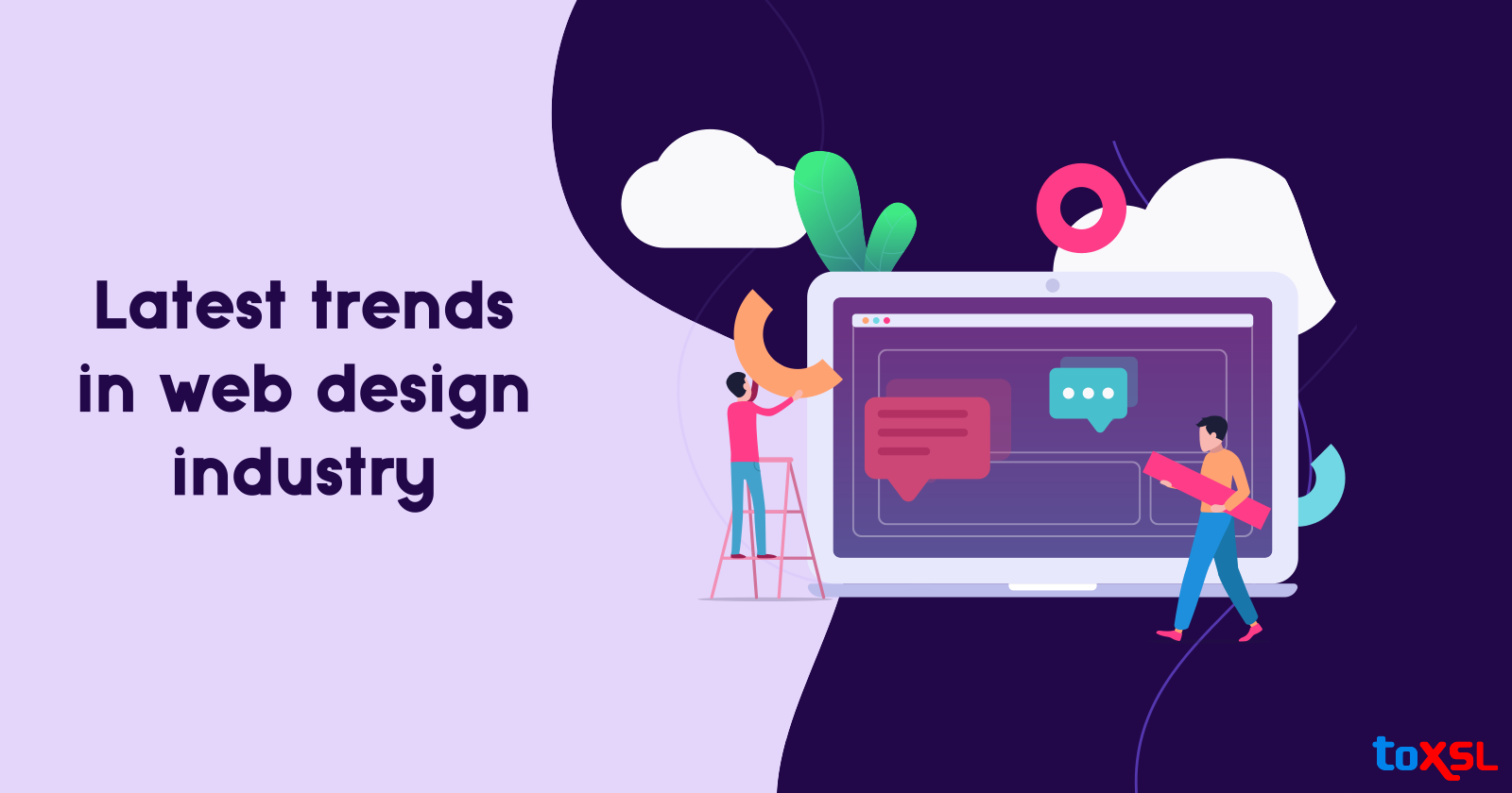 Latest Trends Practised in the Web Design Industry!