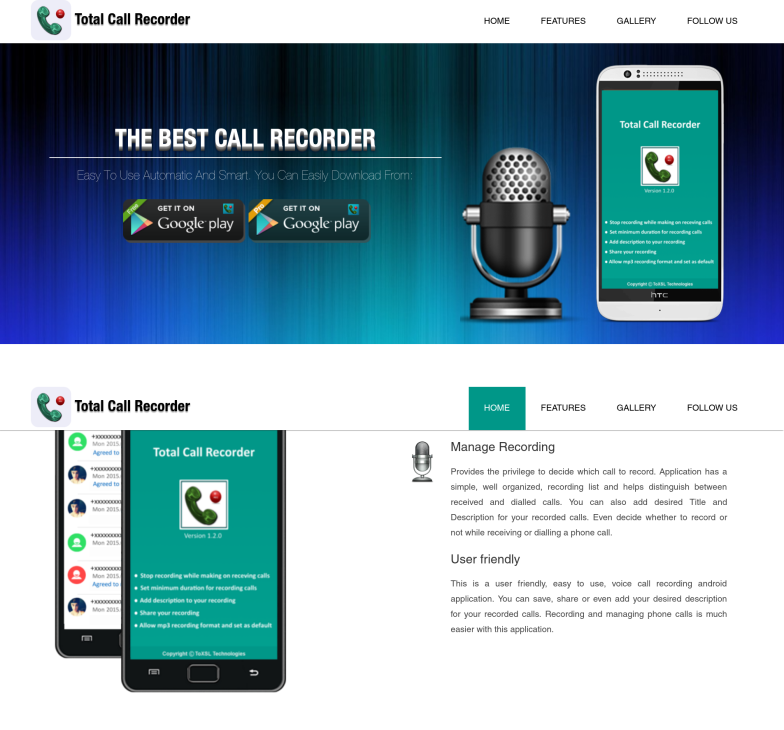 Total Call Recorder ( TCR )