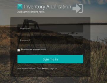 Inventory Application