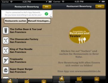 Easy Restaurant Rating